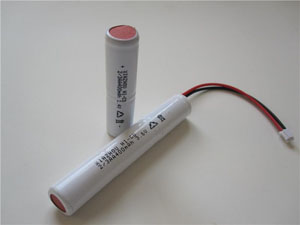 XR No.:002 3PCS 2/3AA400mAh 3.6V
