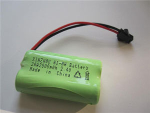 XR No.:019 2PCS AA2000mAh 2.4V