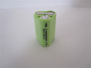 XR No.:026 3PCS 2/3AAA250mAh 3.6V